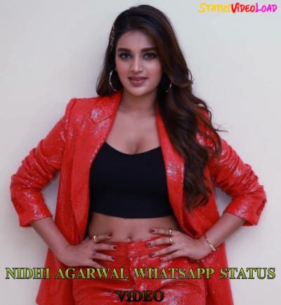 Nidhi Agarwal Whatsapp Status Video